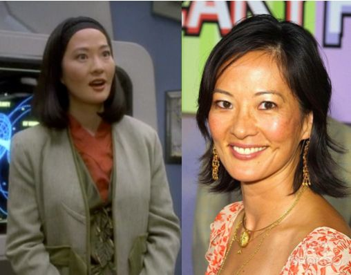 The Cast Of Star Trek Then & Now  Keiko O'Brien – Rosalind Chao  Keiko O'Brien, Molly's mother, was played by Rosalind Chao. After Star Trek, she was in the show AfterMASH.