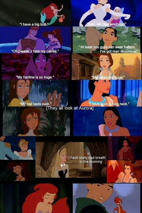 Disney princesses/mean girls mashup Funny pictures