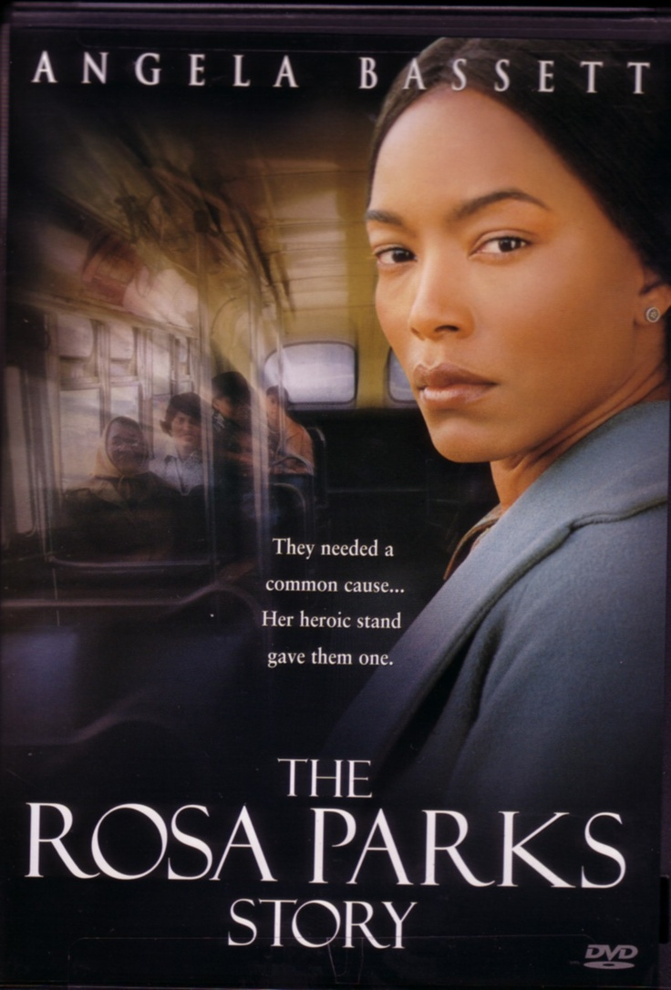 rosa parks.  angela basset was the right person to play as rosa parks.  you must see it was a great story.    sister souljah