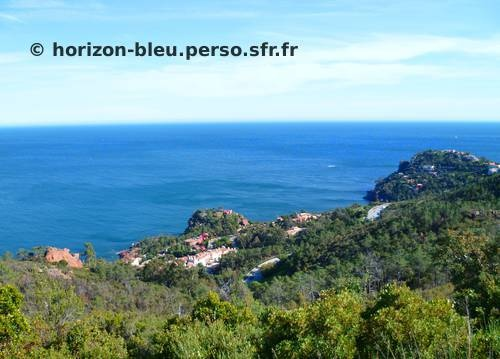 Walk in the Esterel, in the Alpes Maritimes, Provence