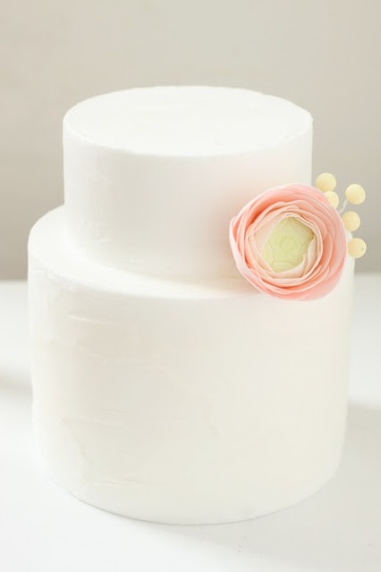 Spatula icing and sugar ranunculus. Simple and so sweet!