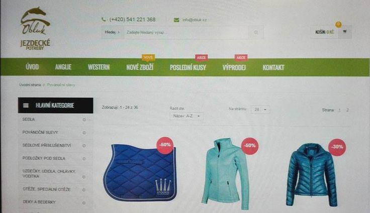 """Sledujte na webu záložku """" POSLEDNÍ KUSY """" poslední kousky za super ceny. 🙂  https://www.obluk.cz/skupina.php?skid=198"""