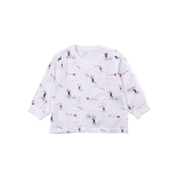 Рубашки для дома и сна из Китая :: Кара медведя дети младенца хлопка куртка четыре сезона белье для мужчин и женщин и детей голова и плечи кнопку рубашка e5b1.