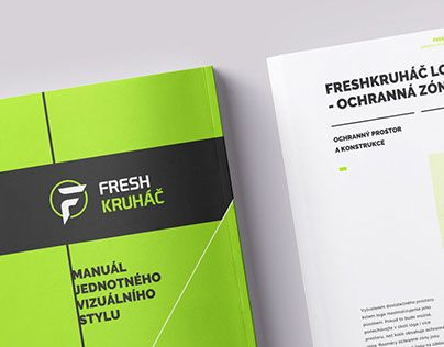 "Check out new work on my @Behance portfolio: ""Brand manual - FreshKruhac""…"