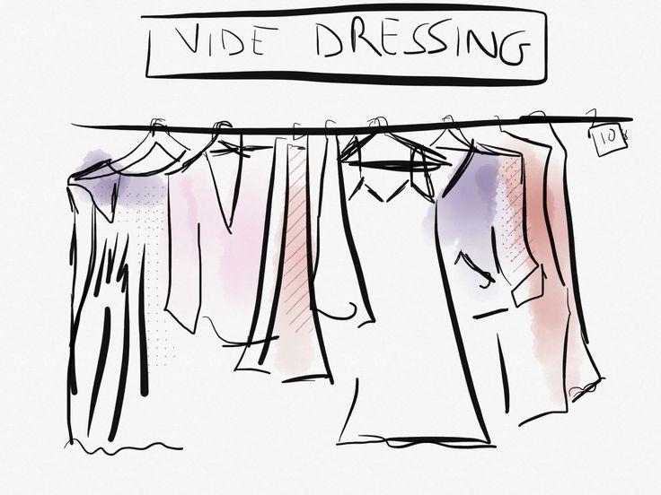 Les 8 meilleures images du tableau vide dressing sur for Dessin dressing