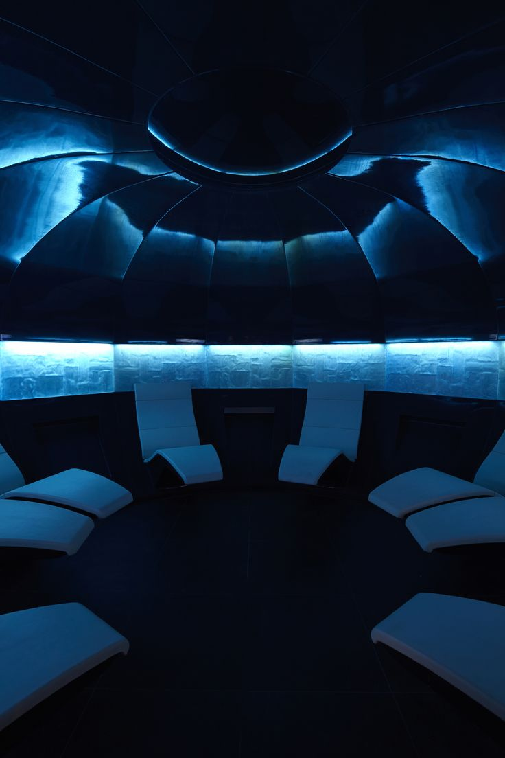 Aqua Sana's Mineral Room
