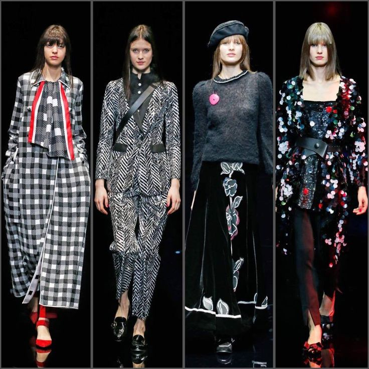 The undisputed attraction of opposites: Emporio Armani presents the new collection Autumn Winter 2017/18