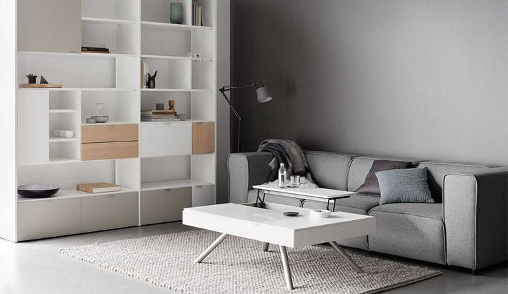 Small homes can be difficult to keep tidy because you end up collecting more stuff than your storage can accommodate, and the space for additional storage is limited.The integrated storage in the Chiva coffee table, matched with the abundance of storage possibilities of the Copenhagen wall system makes a perfect match when you have limited space. Pure functionality wrapped in great design. #StyleTip #SmallLivingSmartLiving #Designer #Interiors #BoConceptLiving #Homefurnishing