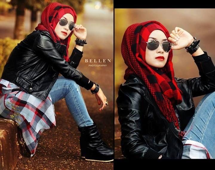 Grunge Hijab