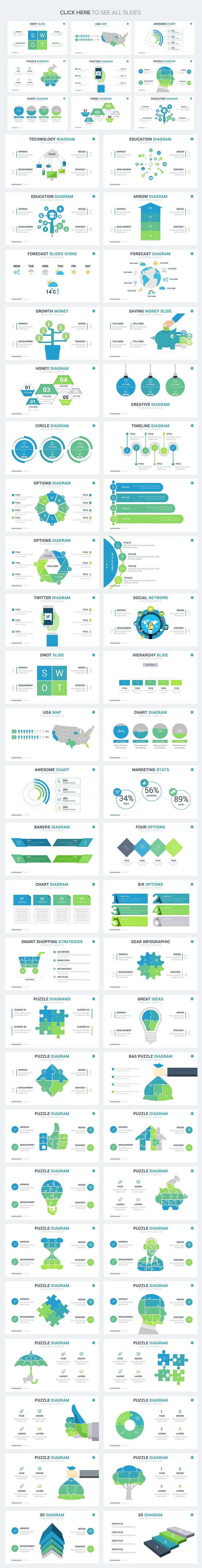 Mega Infographics - Free Updates! by Rocketo Graphics