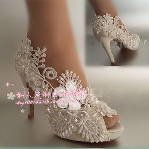 Sapatos Mulheres Bombas Pio aberto Toe sapatos de Casamento do estilo Chinês vestido de noiva pérola de ultra Salto Alto strass sedas cetins Tamanho 41 em Bombas das mulheres de Sapatos no AliExpress.com   Alibaba Group