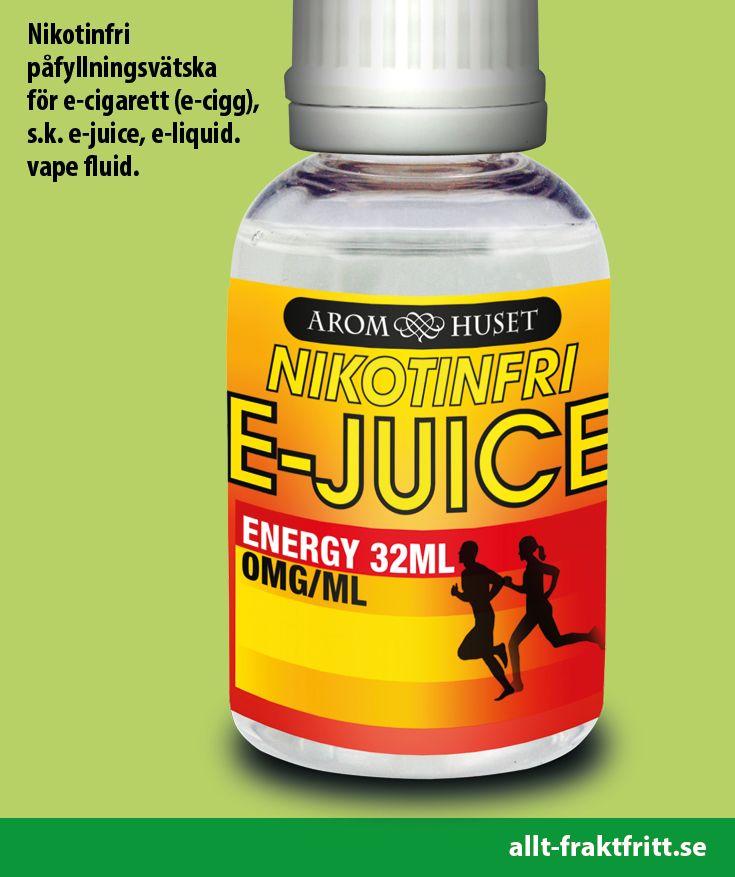 Nikotinfri E-juice Energy 32ML