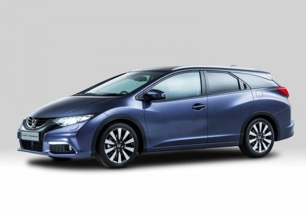 2014 Honda Civic Tourer Front Side 600x424 2014 Honda Civic Tourer Full Review with Images