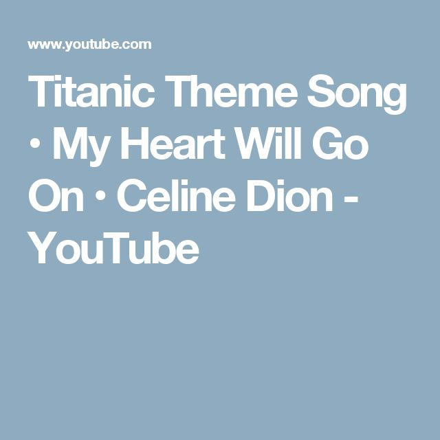 Free Piano Sheet Music For My Heart Will Go On By Celine Dion: 25+ Best Ideas About Celine Dion Music On Pinterest