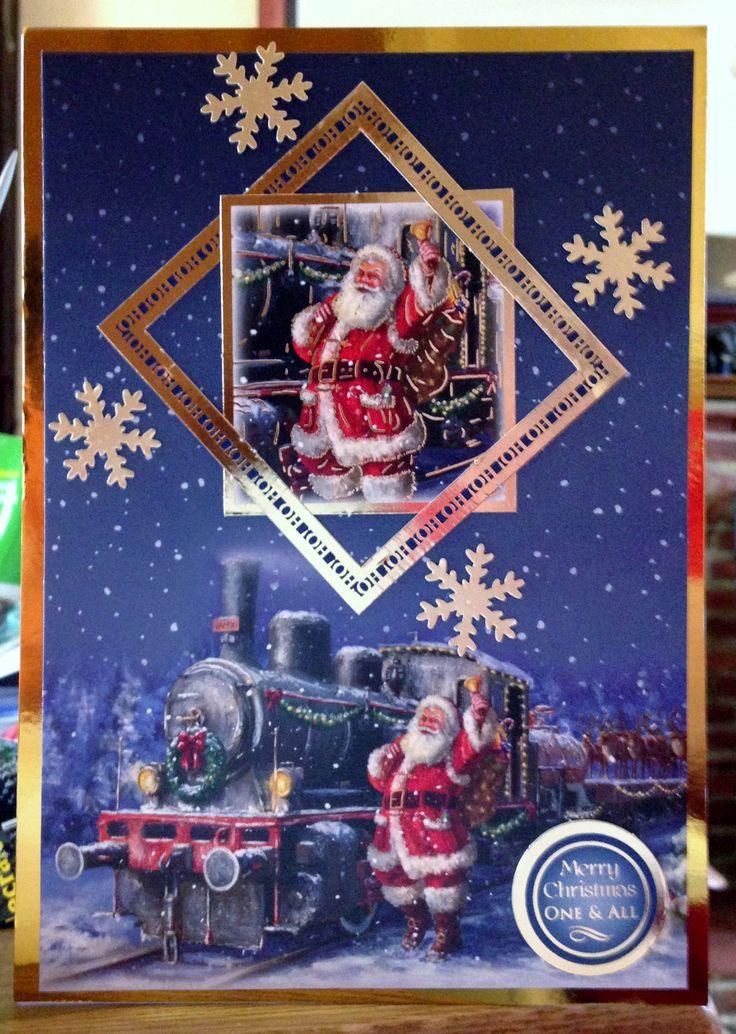 Christmas Card (71) - A5 - Hunkydory 'Traditional Christmas'