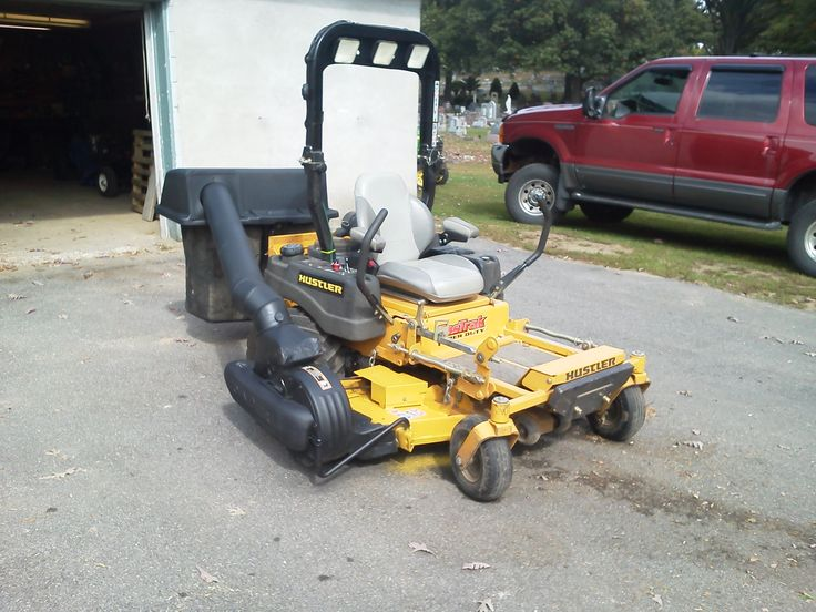 Found A Used John Deere Bagger Attachment And Modified It