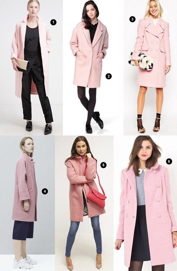 6 manteaux roses à porter cet hiver >> http://www.taaora.fr/blog/post/manteau-rose-clair-pastel-laine-mode-hiver-2016 #manteau #coat