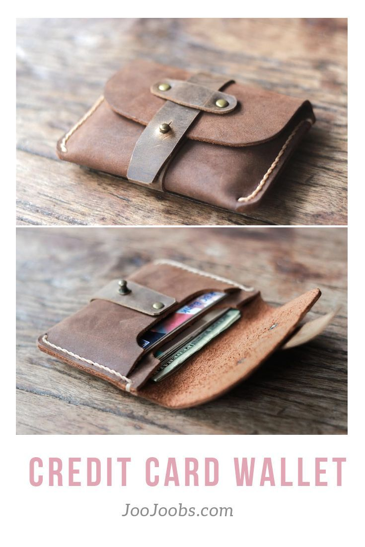 c6af0922cb78eb The Treasure Chest Credit Card Wallet is made from two types of leather.  The body