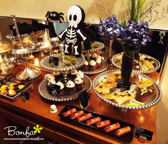 Halloween Witch Party Spread