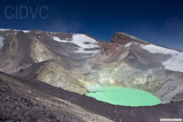 Este Volcán Tupungatito. Es volcán es polular para visitar.