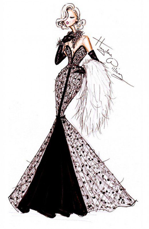 When fashion and art come together, the results are beautiful. This page offers information on how an aspiring fashion designer can begin learning to sketch, plus provides lots of design inspiration.