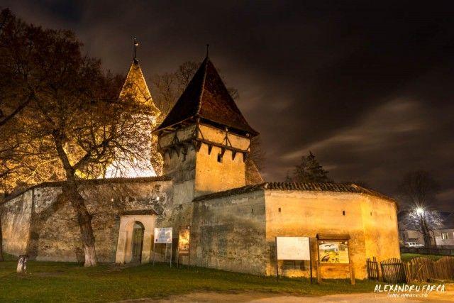 Fortified church of Cincsor