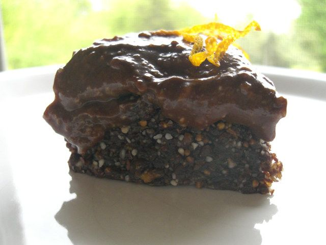 Torta cruda Mandorle, Fichi e Cacao #Raw #Vegan