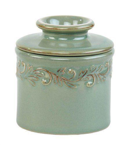 Antique Butter Bell Antique Crock, Sea Spray #ButterBellCrocks
