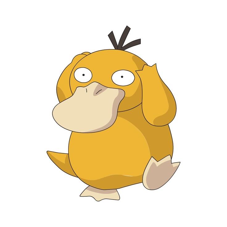 Project Pokemon - Generation 1 Pokedex: Pokemon 054 - Psyduck