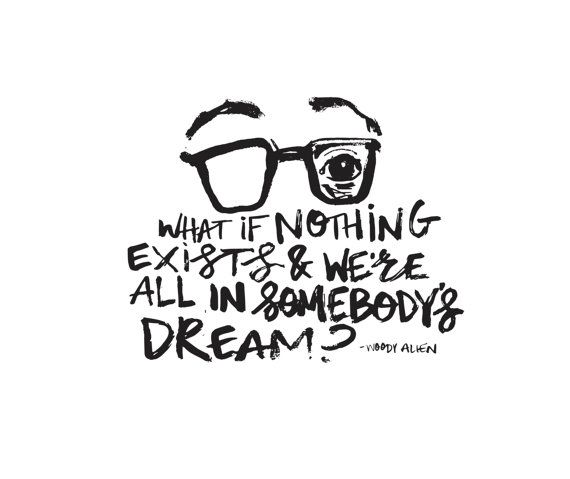 WOODY ALLEN // What if? // allisonsabrie