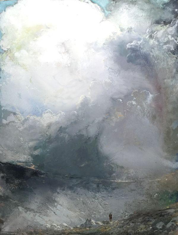 Tuomo Saali, MY Way, oil on canvas, 2010-16, 190x145cm