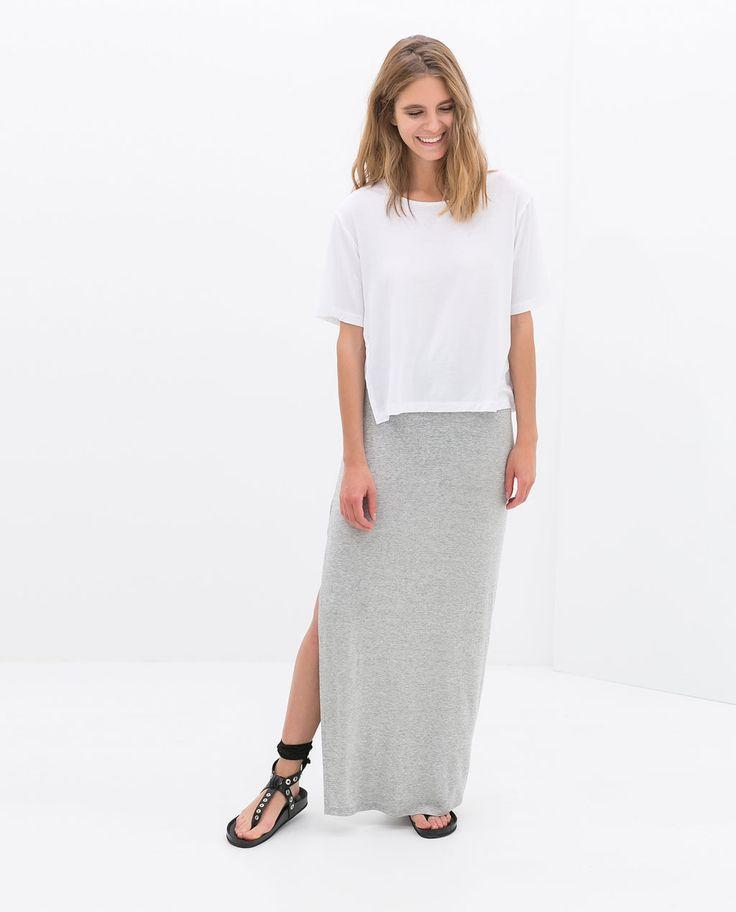 Image 1 of LONG SKIRT from Zara