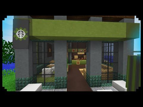 Minecraft How To Make A Starbucks Youtube Minecraft