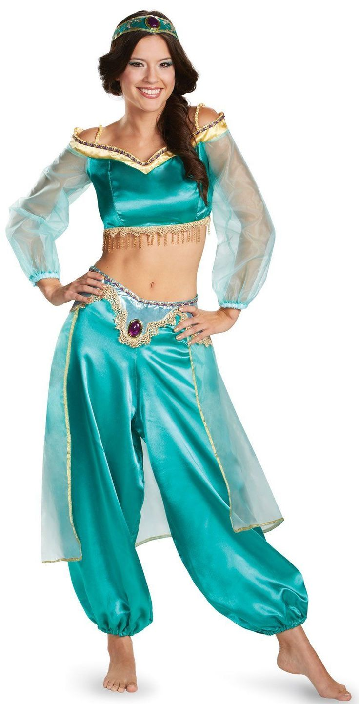 Disney Princess Jasmine Fab Prestige Teen Costume