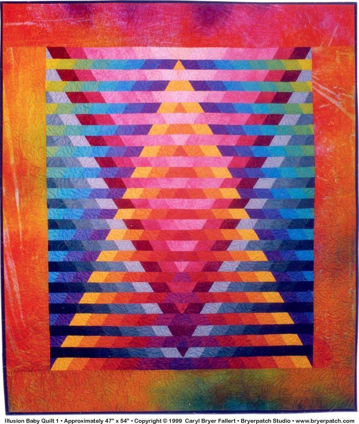 Beautiful illusion quilt