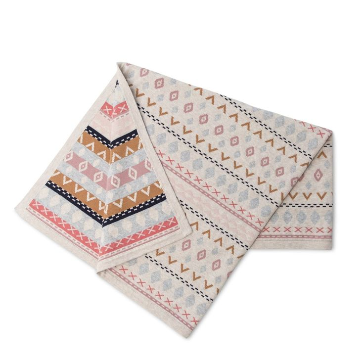 Sadie Knit Blanket by Frankie Jones The Label (Autumn/Winter 2016) | print knit blanket | Baby Style | Baby Fashion | Baby Outfit | Boho Baby
