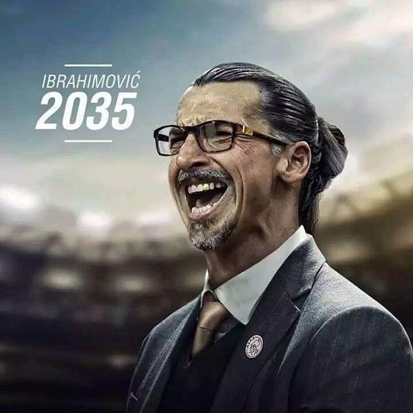Tak będzie wyglądał Szwed za 20 lat jeśli zostanie trenerem • Zlatan Ibrahimovic jako coach w 2035 roku • Wejdź i zobacz więcej >> #zlatan #ibrahimovic #football #soccer #sports #pilkanozna