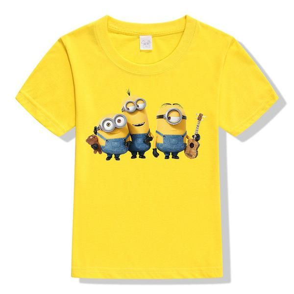 Minions 3D Cartoon T-Shirt – Art By Mel W.