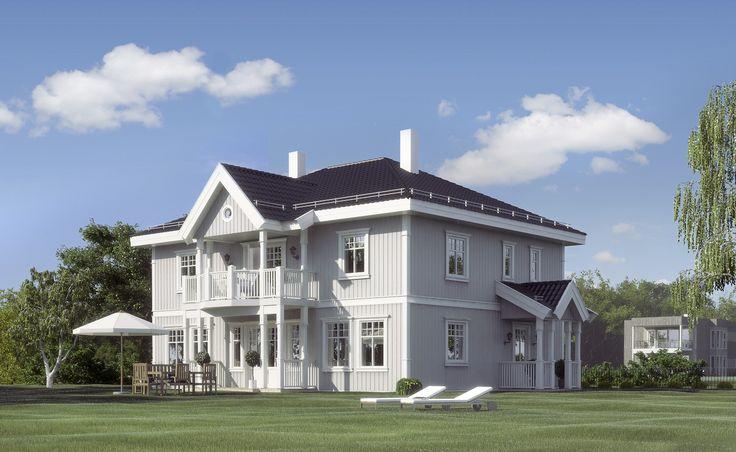 Sagatun har fått navnet sitt fra det fasjonable villastrøket i Hamar sentrum med samme navn, og er en klassisk by-villa med 241 kvadratmeter i bruksareal. Sagatun har et tiltalende ekster...