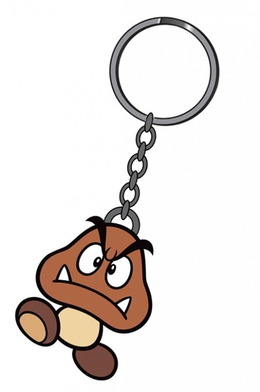 Nintendo Goomba Rubber Keychain | Keychains | The A Factor Shop €4,95