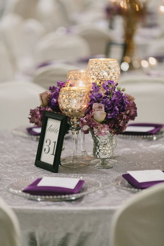 Best gold and purple wedding images on pinterest