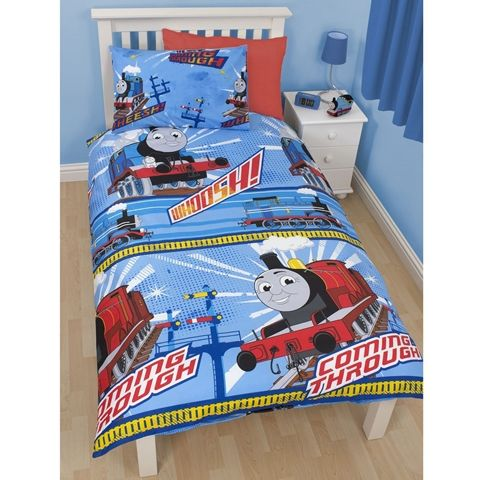Thomas The Tank Engine Wheesh Single Size Doona Cover And