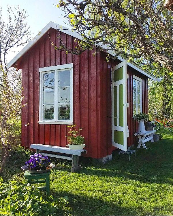 Marit's vintage shed house tour by bruktogblandet