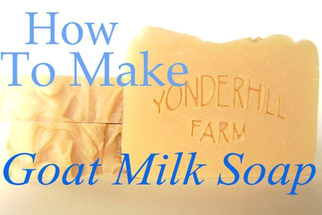 How to Make Goat Milk Soap *housebarnfarm.com* An easy tutorial for the beginning goat milk soap maker