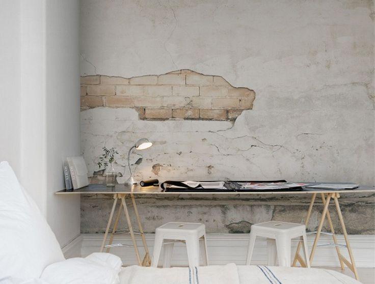Les 25 meilleures id es concernant papier peint imitation - Papier peint imitation beton ...