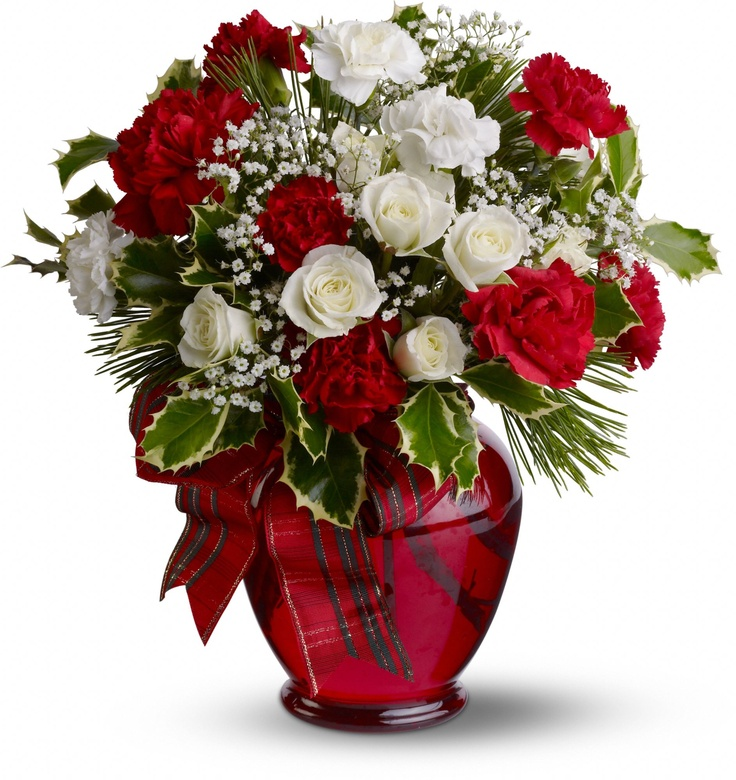 130 best Christmas Flowers images on Pinterest | Christmas flowers ...