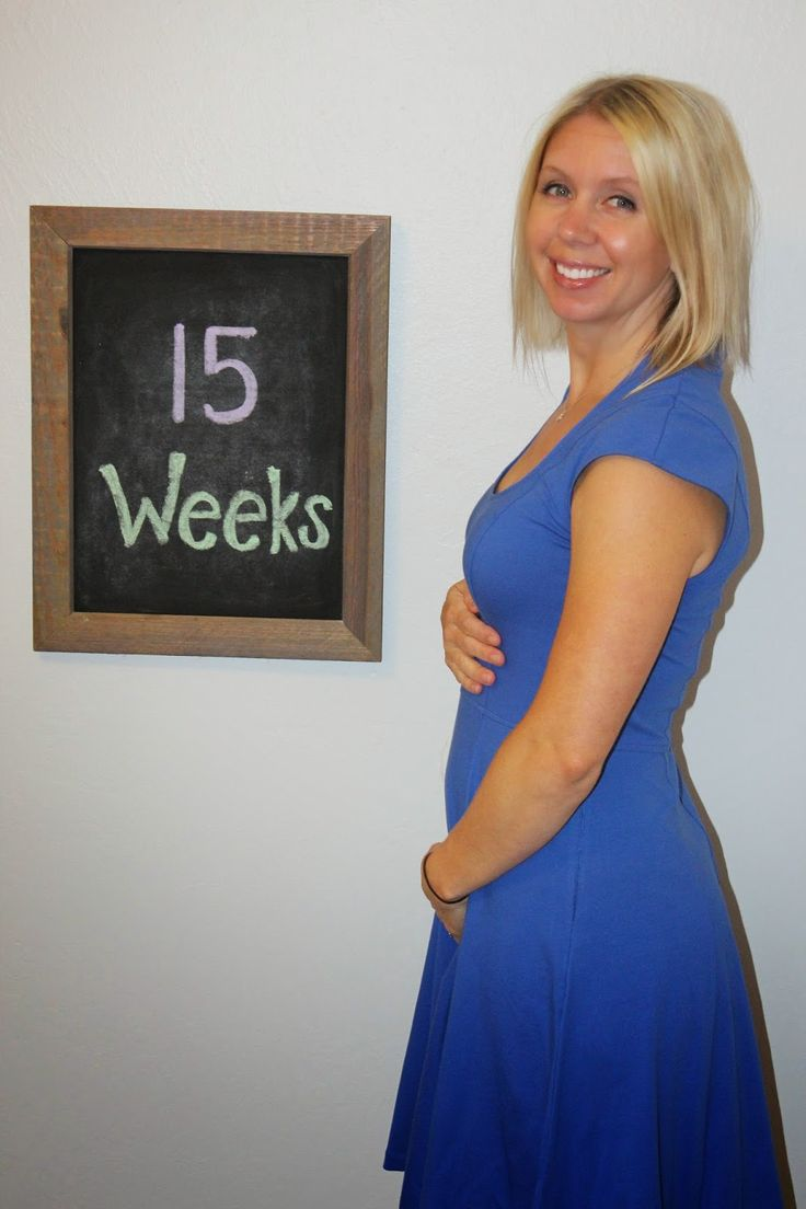 15 Weeks Pregnant Bump