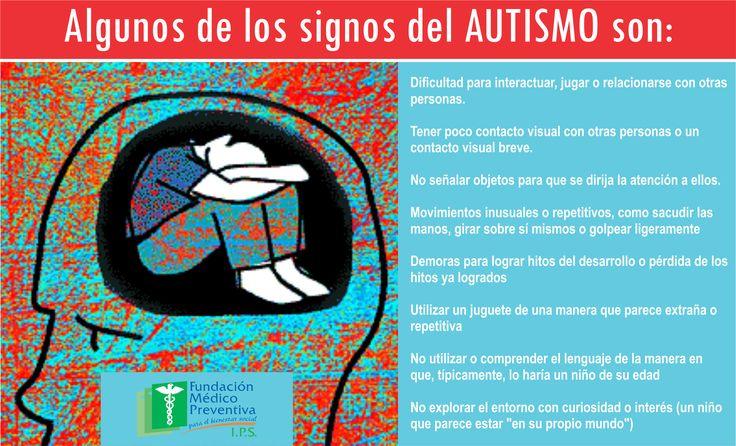 Algunos #signos del #autismo
