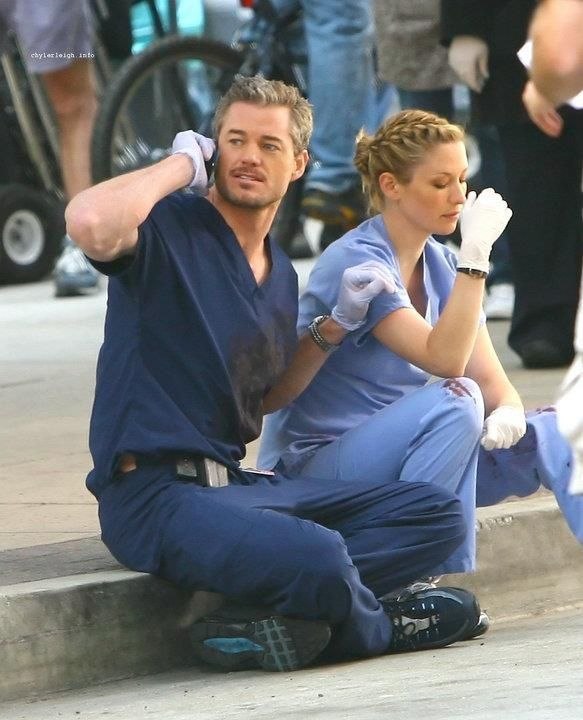 extended scene from the season 6 finale - more sloan and Lexi of course I'll pin it