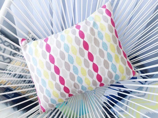 POP OF COLOUR designer fabric custom made cushion cover BARGAIN price